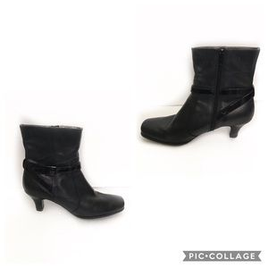 Kenneth Cole Reaction Kiss N Boots Leather Ankle